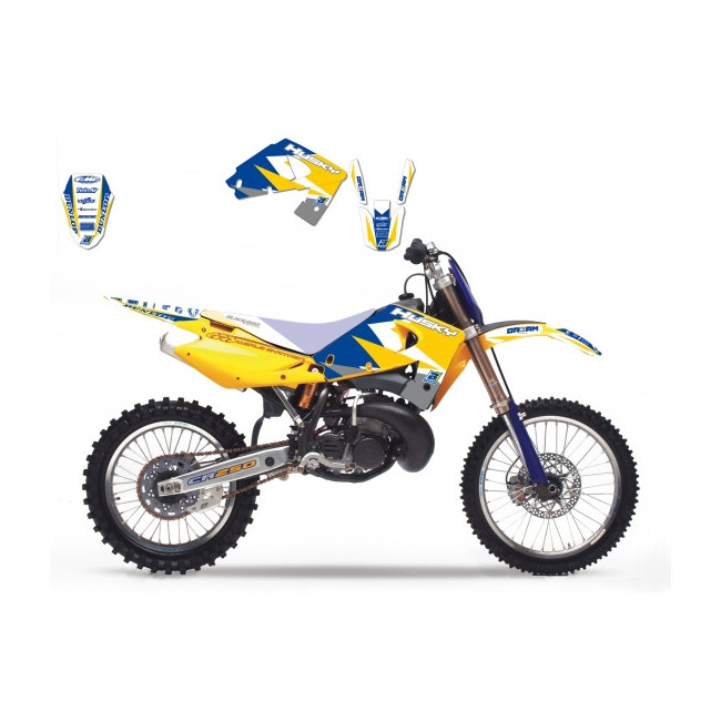 Prot/ège-Guidon Cross et Enduro Husqvarna BLACKBIRD