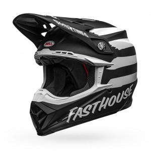 Casque BELL Moto-9 Mips Fasthouse Signia Matte Black/Chrome 2020