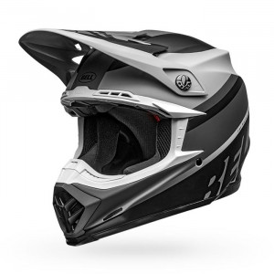Casque BELL Moto-9 Mips Prophecy Matte Gray/Black/White 2020