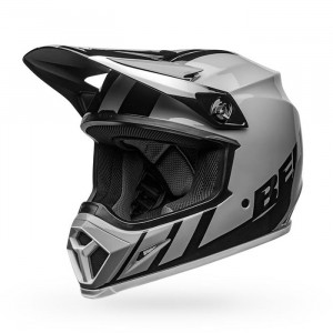 Casque BELL MX-9 Mips Dash Gray/Black/White 2020
