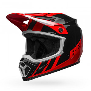 Casque BELL MX-9 Mips Dash Black/Red 2020