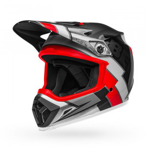 Casque BELL MX-9 Mips Twitch Replica Matte Black/Red/White 2020