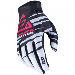 Gants ANSWER AR1 Pro Glow White/Black/Pink 2020