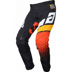 Pantalon ANSWER Elite Korza Black/White/Bus/Orange 2020