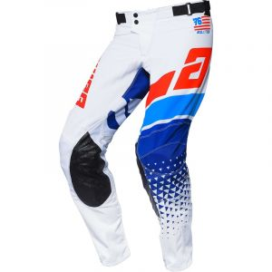 Pantalon ANSWER Elite Korza White/Red/Hyper Blue/Reflex 2020
