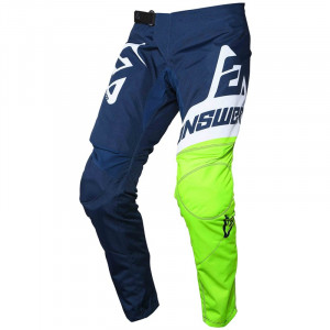 Pantalon ANSWER Syncron Voyd Midnight/Hyper Acid/White 2020