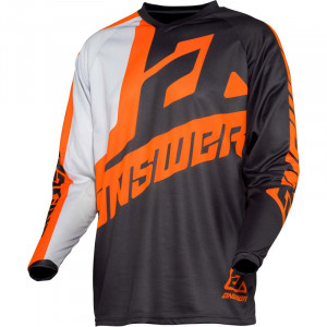 Maillot ANSWER Syncron Voyd Charcoal/Gray/Orange 2020