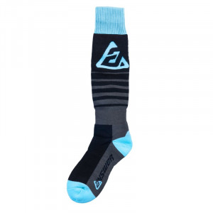 Chaussettes ANSWER Riding Socks fine Astana/noir