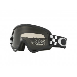 Masque OAKLEY XS O Frame MX Troy Lee Designs Checker écran Dark grey
